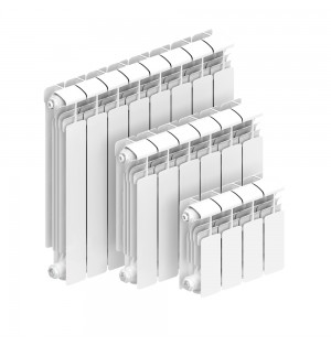 Алюминиевый радиатор Rifar Alum 500 12 секций